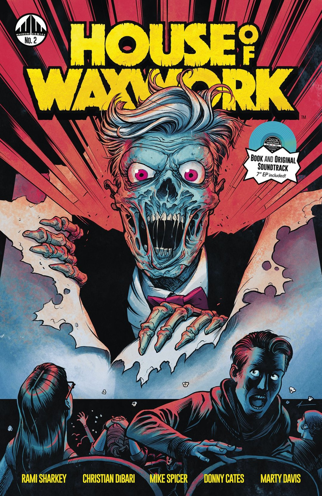 'House of Waxwork' Issue #2 is Treating Us to the Zombie Apocalypse and More!
