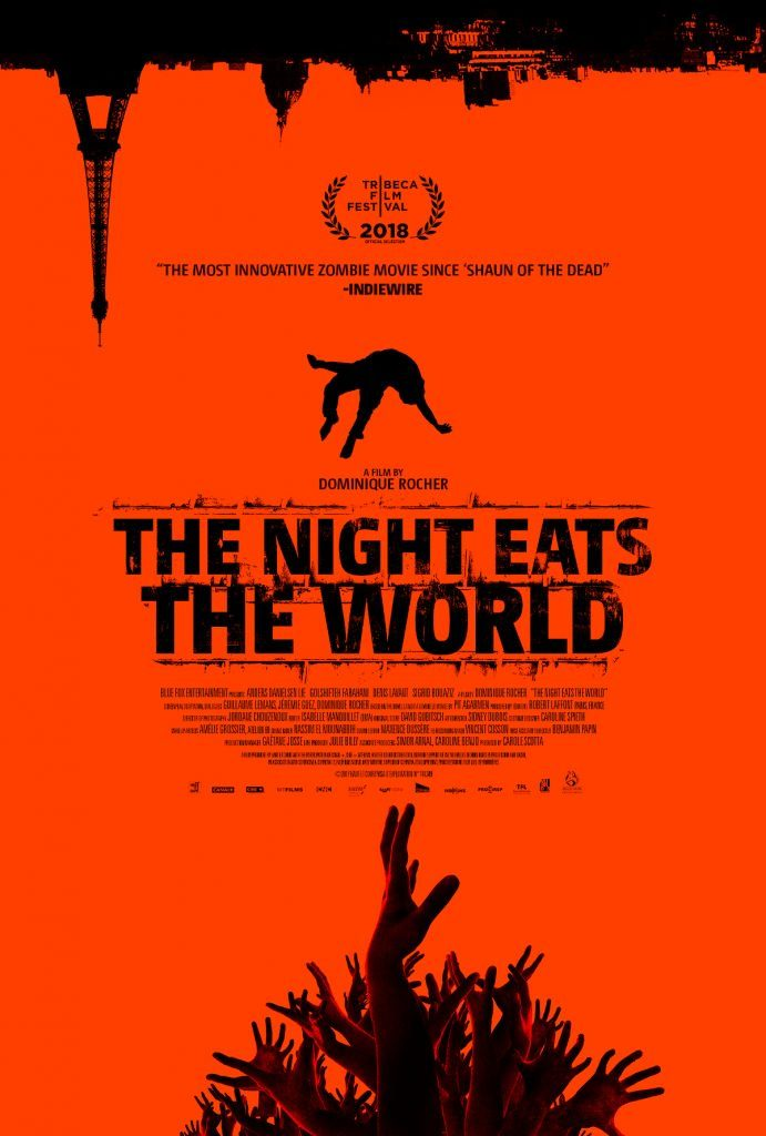 Blue Fox Entertainment Reveals the US Poster & Release Details for New Zombie Movie 'The Night Eats the World'