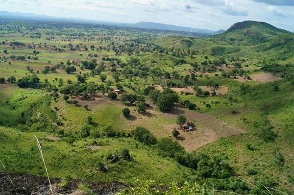 paysage boukombé destination benin