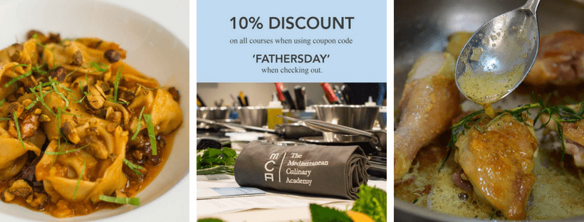 Mediterranean Culinary Academy Father's Day
