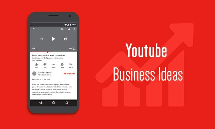 Youtube Business Ideas
