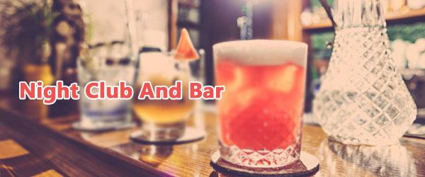 nightclub and bars