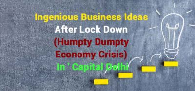 business ideas after lockdown 2020