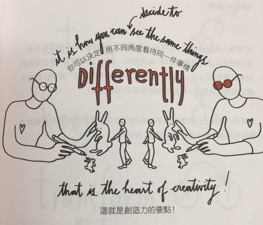 設計你所愛的人生 建立自己人生觀點 用不同角度看待同一件事情