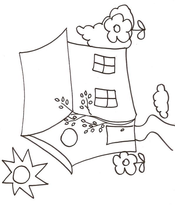 Dessin A Colorier Maison Playmobil