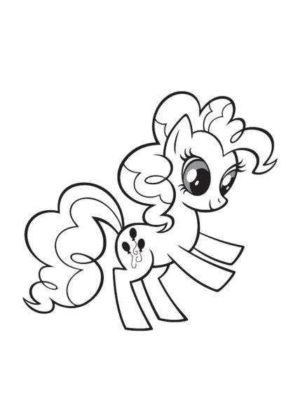 8 Dessins De Coloriage My Little Pony Gratuit Imprimer
