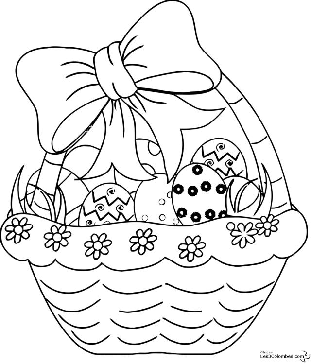 coloriage oeuf de paques mandala