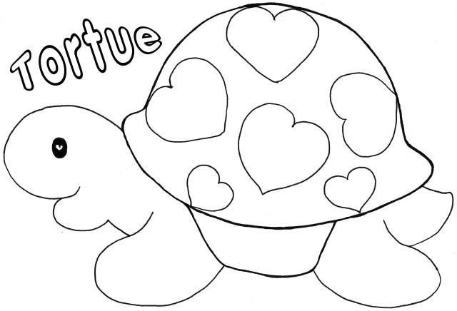 coloriage à dessiner st-valentin pour imprimer