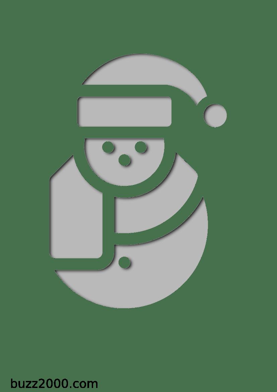 50 Pochoirs De Noel A Imprimer