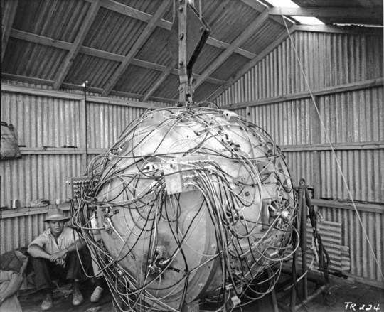 Gadget, the first atomic bomb
