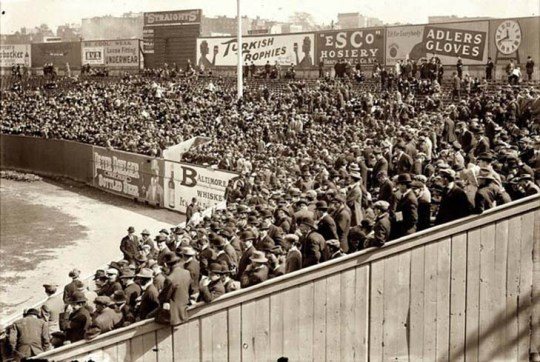 1912 - The first World Series Game in New York.