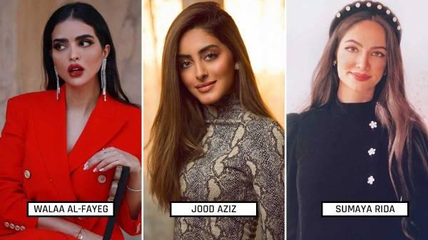 most beautifu saudi arabian women