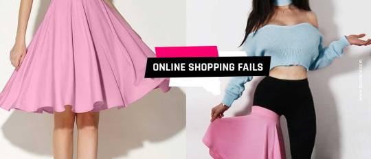 online shopping fails
