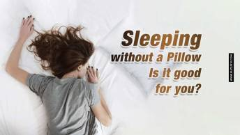 sleeping without pillow