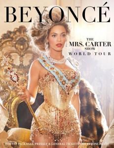 beyonce Mrs Carter world tour