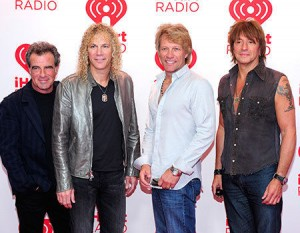 Perennial boy band Bon Jovi still tours the world 'Because We Can'