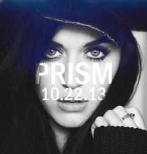 Prism drops next month -  Katy Perry's 4th studio album