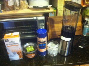 Now a shot with my handy Cuisinart blender - great blender!