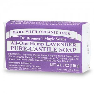 Dr. Bronner's Lavender Pure-Castile Soap - everyday, go-to