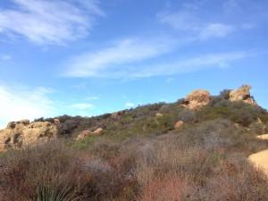 Skull Rock in Temescal Canyon