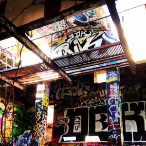 Murphy Canyon Ruin with Graffiti