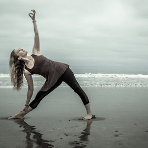 Mary Beth LaRue Beach Yoga