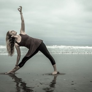 Mary Beth LaRue Beach Yoga
