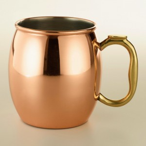Moscow Mule, best served in one of these.