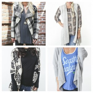 Four great sweaters from Evereve.com: xxxx (top left); xxxx (top right); xxxx (bottom left); xxxx (bottom right)