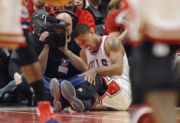 Derrick Rose-injured