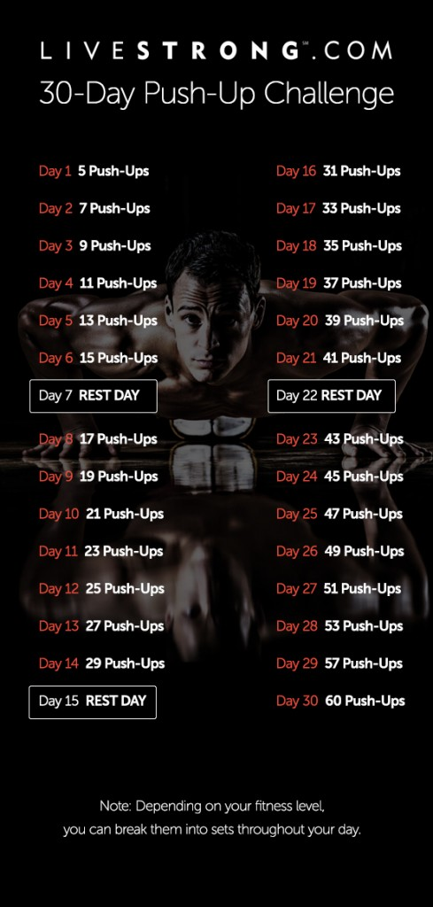 FF- Push Up - LiveStrong-30-day