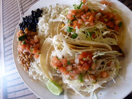 Wahoo Wahoos-Fish-Taco-Plate