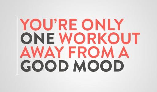 Workout good mood