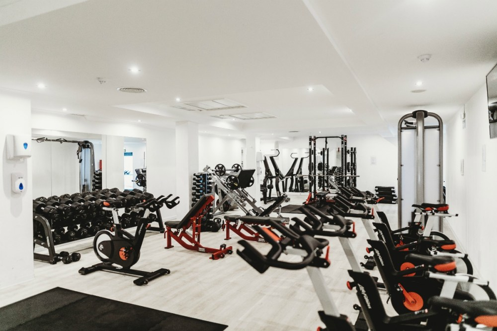 business trip gyms