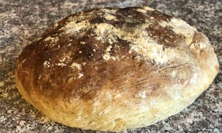 vegan peasant bread