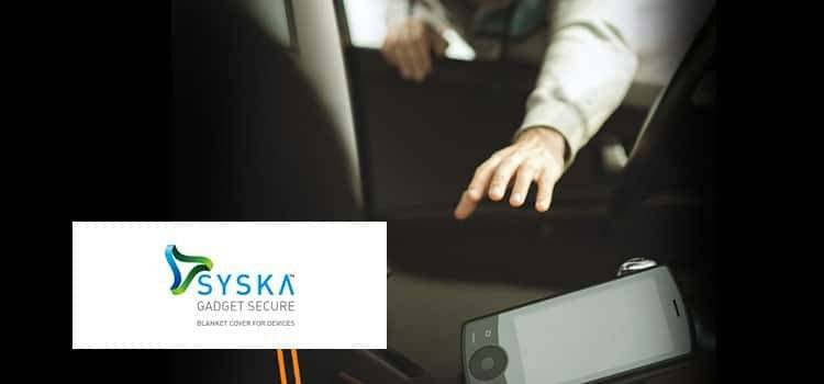 Syska gadget secure- best mobile insurance company in india