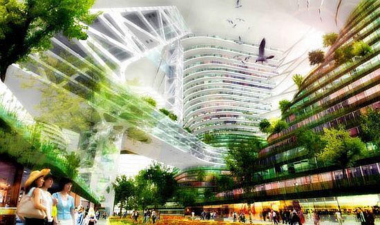 tour durable 1 Un projet de tour durable pour la ville de Shenzhen ...