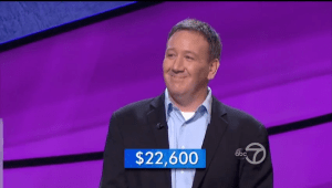 Brian Loughnane, the new Jeopardy! champion