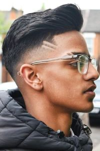 Taper fade hairstyle 2020