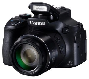 canon powershot sx60 hs camera - front view