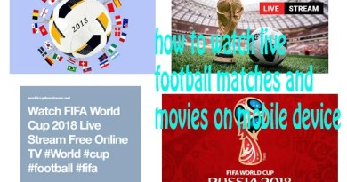 how to watch live football matches and movies on mobile device