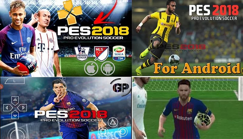 pes 2018 android apk play store