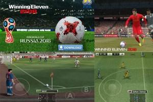 Latest Winning Eleven 2018 apk mod obb download