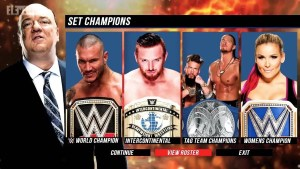 wwe 2k19 set champions - PC