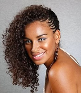 Short Curly Braided Weave Hairstyles Inspirational Short curly braided weave hairstyle
