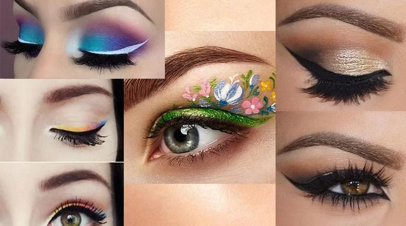 Trending eyeliner styles for celebrities