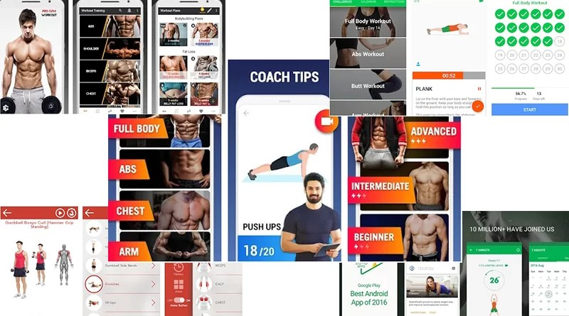 trending fitness and bodybuilding apps for android
