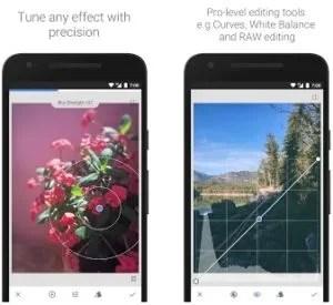 Snapspeed - Google best android photo editor