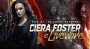 Ciera Foster is LiveWire For The Valiant Universe