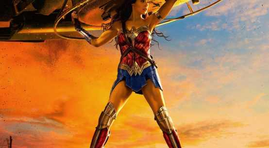 Buzz Review of Wonder Woman poster 1